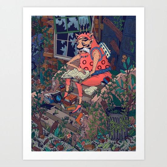 The Last Guy Art Print