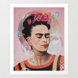 Quebradizo Art Print
