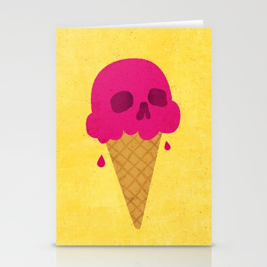 Skull Scoop. Stationery Cards