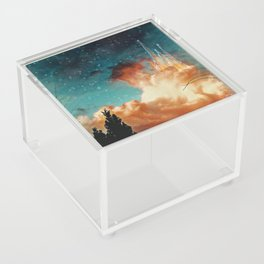 Seeing a City in the Clouds Acrylic Box
