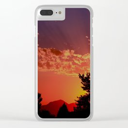 Rays of Hope Clear iPhone Case