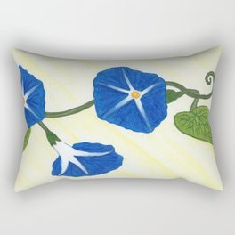 Morning Glory 2 Rectangular Pillow