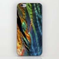 hippy iPhone & iPod Skins featuring Hippy Flag by Mingo