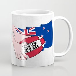 Rugby Ball New Zealand Coffee Mug