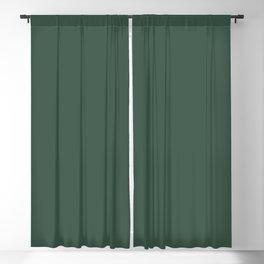HUNTER GREEN Blackout Curtain