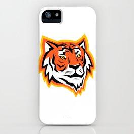 Bengal Tiger Head Mascot iPhone Case