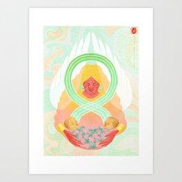 Oshun Art Print