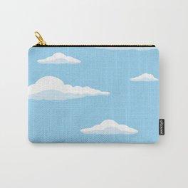Cloudscape - Blue Carry-All Pouch