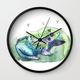 Lily Padded Wall Clock