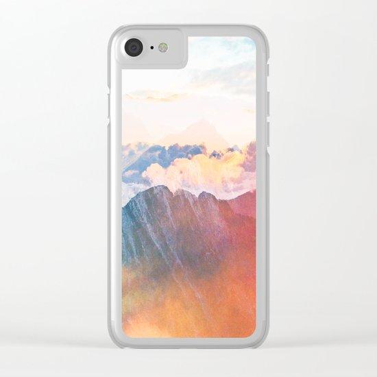 Mountain Glory #society6 #decor #buyart Clear iPhone Case