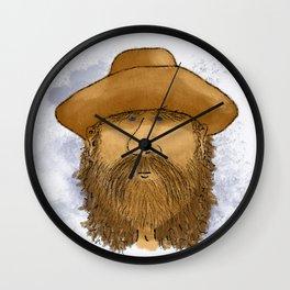 Flynt Locke, Cowboy Mountain Man Wall Clock