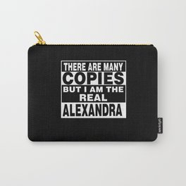 I Am Alexandra Funny Personal Personalized Gift Carry-All Pouch