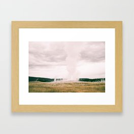 The Legendary Old Faithful  Framed Art Print