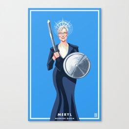 Meryl: Warrior Queen Canvas Print