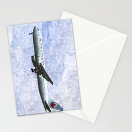 Air Canada Boeing 777 Art Stationery Cards