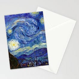 Vincent van Gogh - Starry Night (1889) Stationery Cards