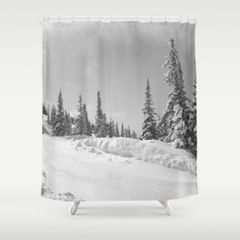Winter day 25 Shower Curtain