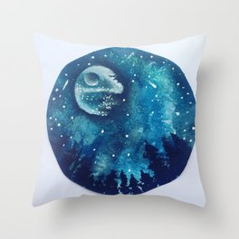 Star from Endor Throw Pillow