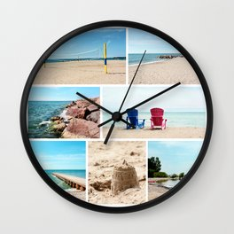 AFE Summer Vibes Wall Clock