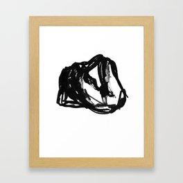 Boceto gestual 6 Framed Art Print