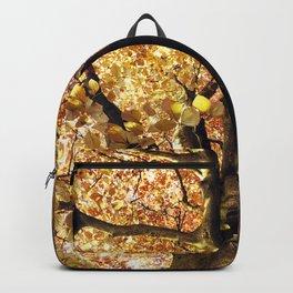 Golden Brown Backpack