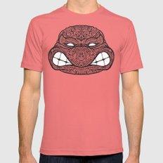 Teenage Mutante Lucha Turtles Mens Fitted Tee Pomegranate 2X-LARGE