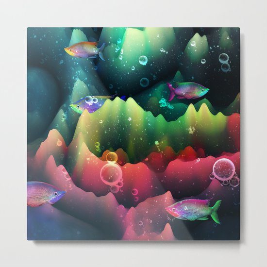 Rainbowland Metal Print