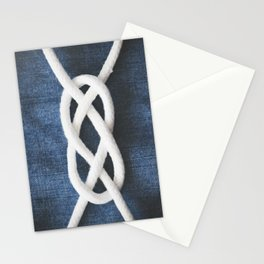sailor knot Stationery Cards