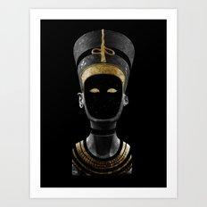 Nefertiti AD (revisited) Art Print