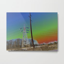 HTC Series 1 Metal Print