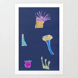 polypus Art Print