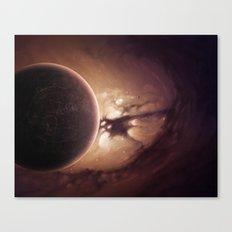 Strangers Planet Canvas Print