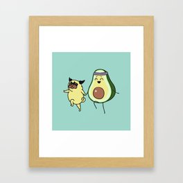 Good Kind of Fat Framed Art Print