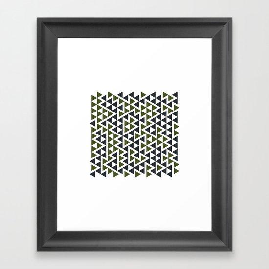 #458 Trap – Geometry Daily Framed Art Print