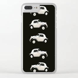Fiat 500 Toppolino - italian vintage automobile - #society6 #buyart Clear iPhone Case