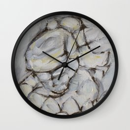 No Eye Contact Wall Clock