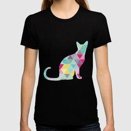 Triangle Cat T-shirt