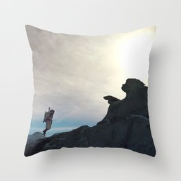 One Small Step Throw Pillow