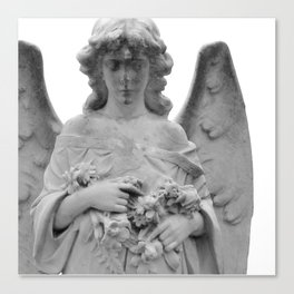 Angel Watching Over Me Canvas Print