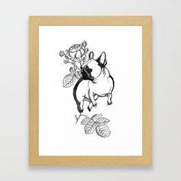Rosie dog Framed Art Print