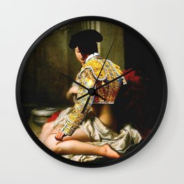 Courtly Love  Wall Clock