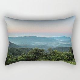 The Morning Mists Rectangular Pillow