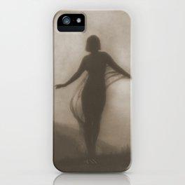 Anne Brigman Photograph - The Breeze, 1910 iPhone Case