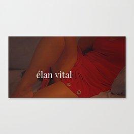 Elan Vital Canvas Print