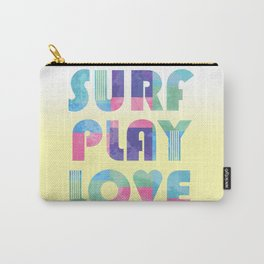 Surf Play Love Carry-All Pouch