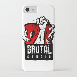 Brutal Studio Logo iPhone Case