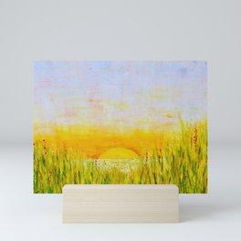 Mindscape Series Two, Painting Five, Renewal Mini Art Print