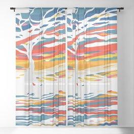 War Cry Sheer Curtain