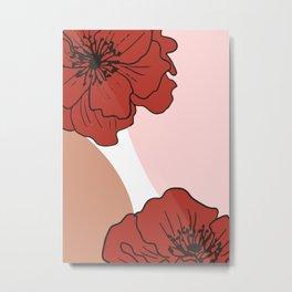 Botanical 3 Metal Print