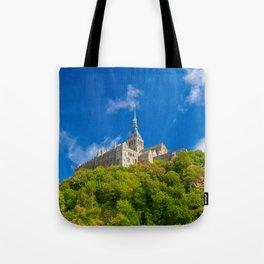 Mont Saint-Michel Abbey Tote Bag